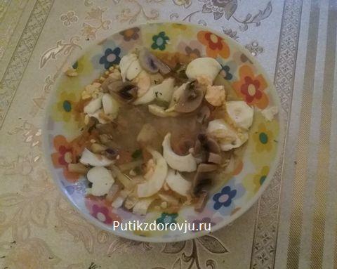 Рецепты приготовления грибов шампиньонов-12