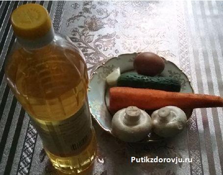 Рецепты приготовления грибов шампиньонов-7