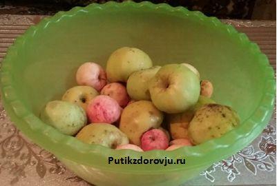 Способ приготовления яблочного пюре-1