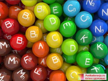 Витамины избыток и недостаток таблица