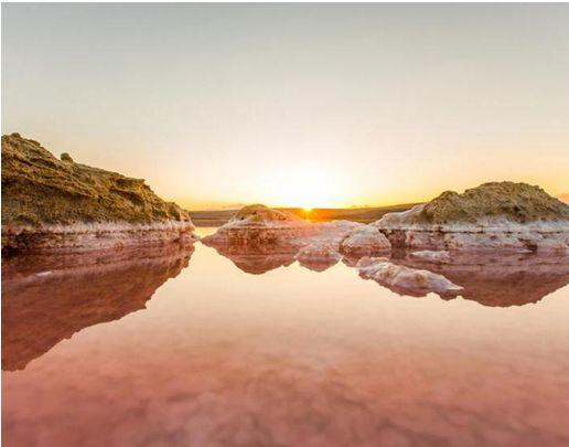 Кояшское розовое озеро-4