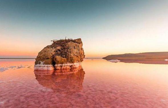 Кояшское розовое озеро-6