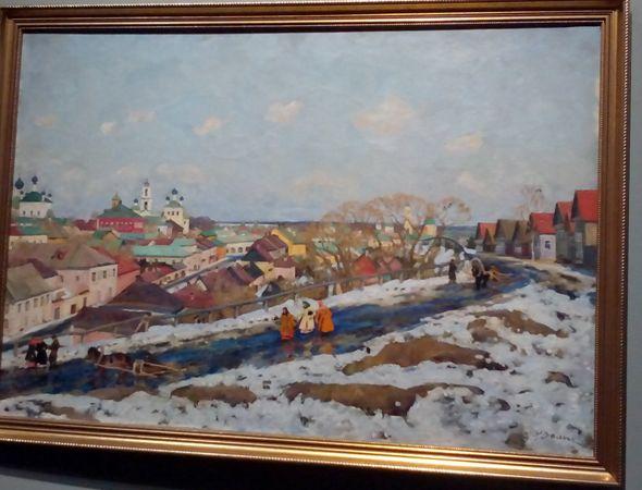 Выставка Сокровища музеев России в Манеже-9