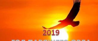 Поздравление с Новым 2019 годом-1