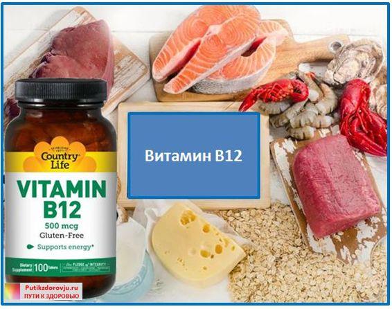 Витамин B12 - в чем содержится и влияние на здоровье