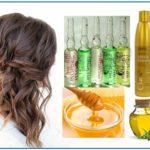 Рецепт маски для волос с витаминами