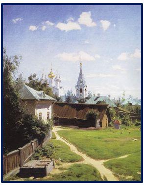 Выставка Поленова в Москве-9