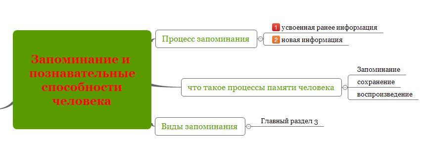 Как пользоваться интеллект картой X-Mind для запоминания информации-7