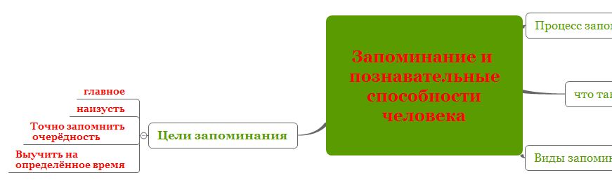 Как пользоваться интеллект картой X-Mind для запоминания информации-9