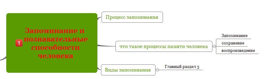 Как пользоваться интеллект картой X-Mind для запоминания информации-6