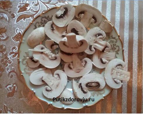 Рецепты приготовления грибов шампиньонов-5