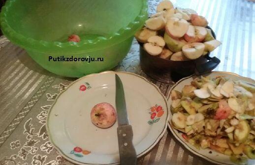 Способ приготовления яблочного пюре-2