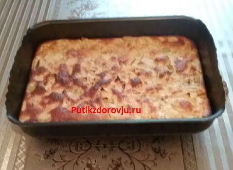 Яблочный пирог быстрого приготовления шарлотка-1