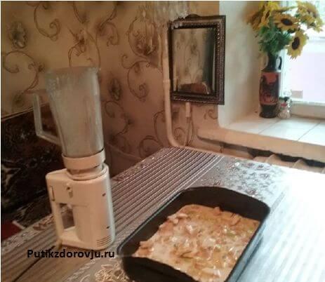 Яблочный пирог быстрого приготовления шарлотка-4